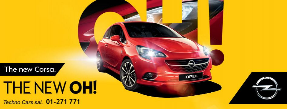 2015 Opel Corsa Base 1.4 L., 100 hp, 4 speed, Automatic, Front-wheel drive