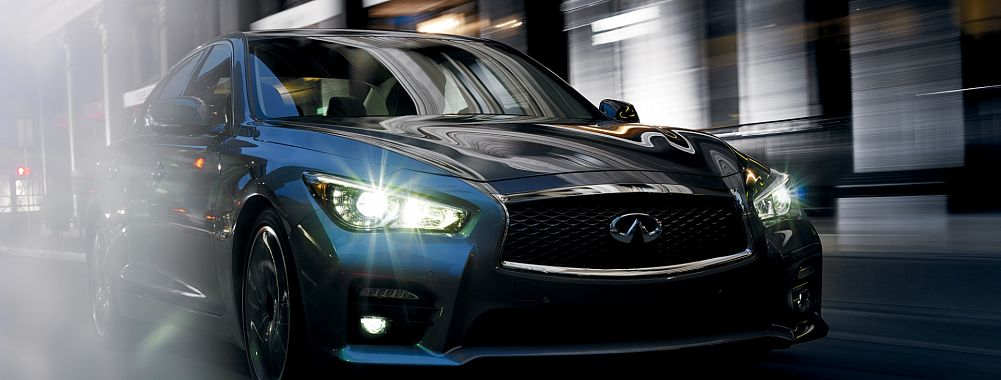 2014 Infiniti Q50 Sport 3.7 L., 328 hp, 7 speed, Automatic with Downshift Rev Matching, Rear-wheel drive