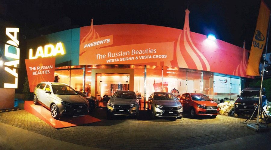 The Russian Beauties Lada Vesta Sedan & Vesta Cross Landed in Lebanon!