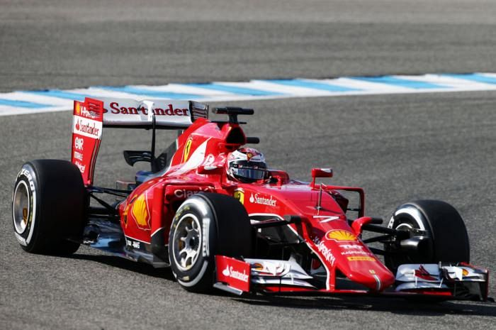 Ferrari tester says Mercedes is 2015 'favourite'