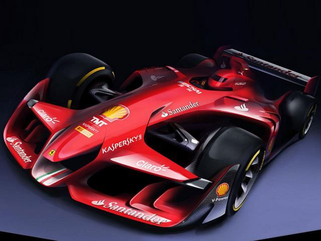 Ferrari Envisions Formula 1 Car Of The Future!