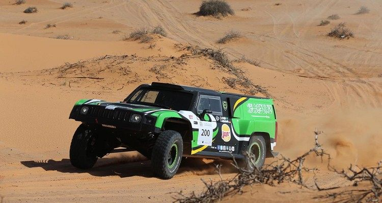Yazeed Al-Rajhi Cruises To An Emphatic Fourth Ha'il Nissan International Rally Victory