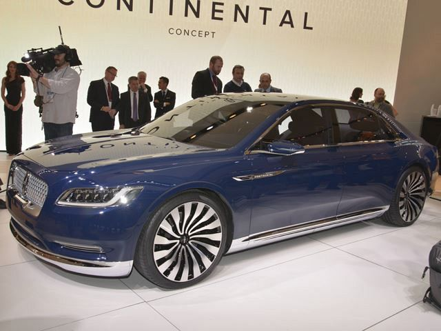 Lincoln Continental Concept Is Luxury At Its Very Best