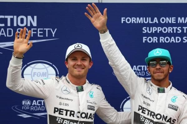 Different dramas for Mercedes' driving duo