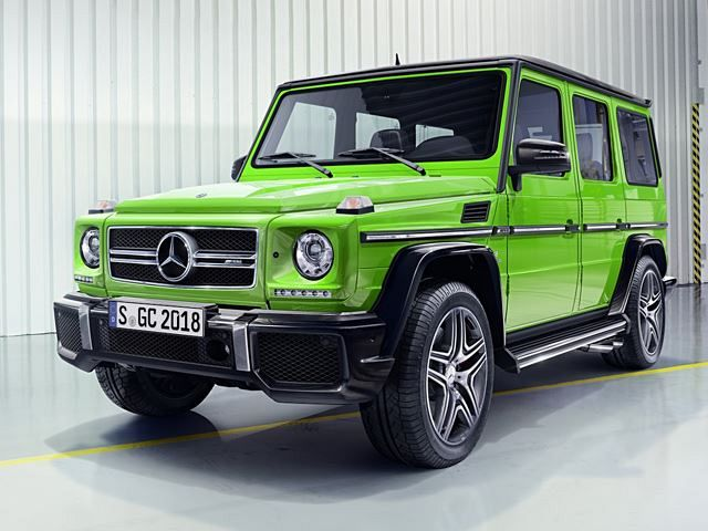 This Is Your New Mercedes G-Class