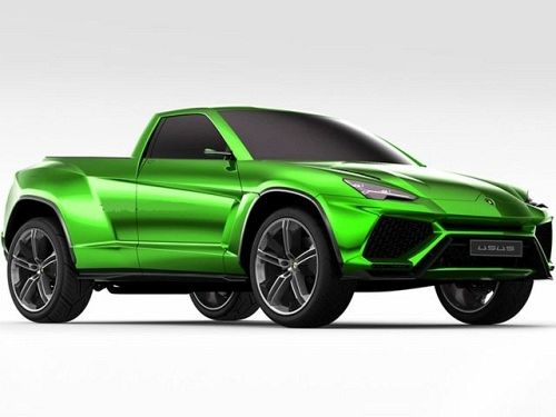 Lamborghini Crazy Enough To Turn The Urus Into this Pickup?