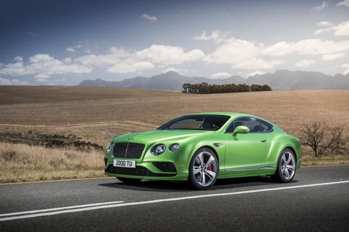 New Bentley Bentley Continental GT coming in 2017