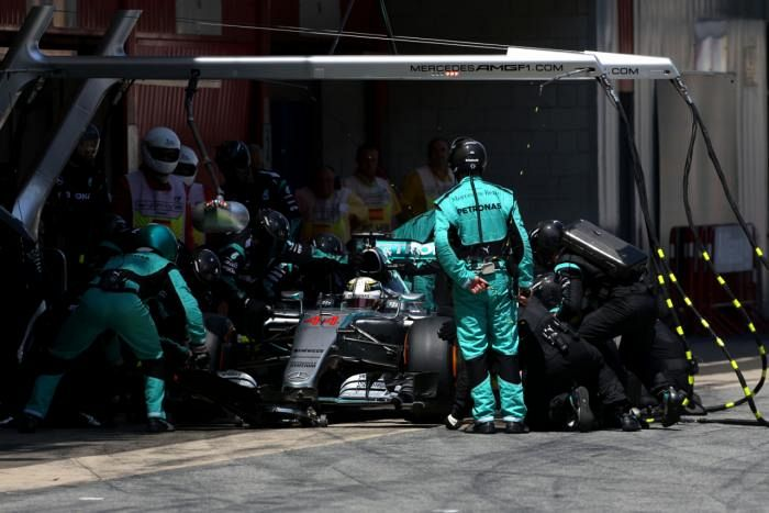 Mercedes changes its Pitstop philosophy