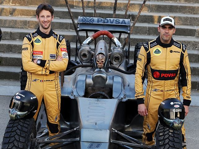 Lotus' very own Team Mad Max Hybrid F1 racer!