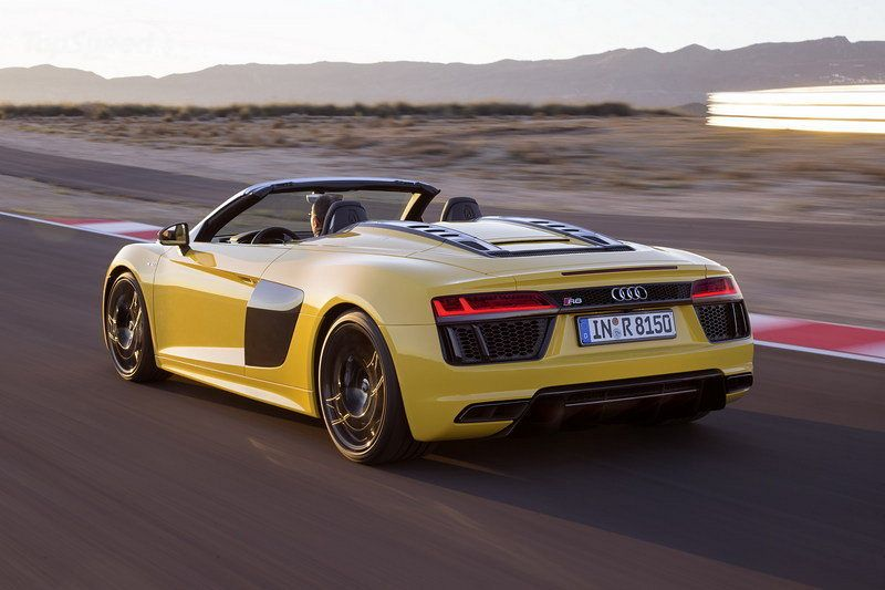 Audi R8 Can Go Topless & it Can't Go Wrong!