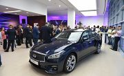 New Infiniti Q70 makes its Debut in Beirut!