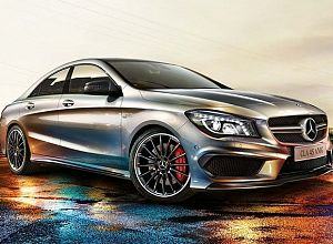 2015 Mercedes-Benz CLA-Class 45 AMG 4MATIC 2.0 L., 360 hp, 7 speed, Automatic, All-wheel Drive