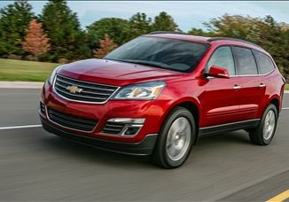 2016 Chevrolet Traverse LS 3.6 L., 313 hp, 6 speed, Automatic, AWD