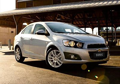 2016 Chevrolet Sonic Base 1.6 L., 115 hp, 6 speed, Automatic, FWD
