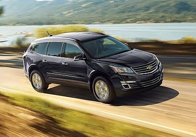 2017 Chevrolet Traverse LT 3.6 L., 313 hp, 6 speed, Automatic, AWD