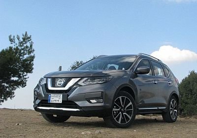 2018 Nissan X-Trail S Grade 7 seats 2.5 L., 170 hp, 7 speed, CVT, 4WD