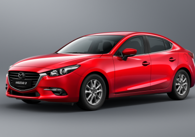 2018 Mazda Mazda3 Core 1.6 L., 107 hp, 4 speed, Tiptronic, FWD