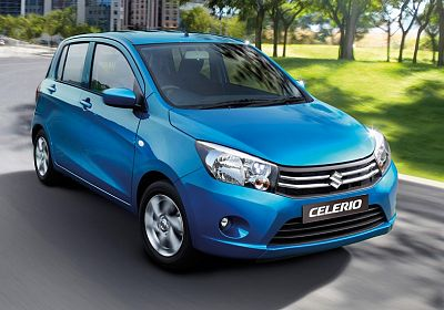 2015 Suzuki Celerio GA 1L., 67hp, 5 speed, Manual, FWD