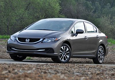 2015 Honda Civic EXI 1.8L., 139hp, 5 speed, Automatic, FWD