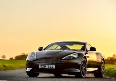 2015 Aston Martin DB9 V12 Carbon Black  6.0 L., 510 hp, 6 speed, Touchtronic, RWD