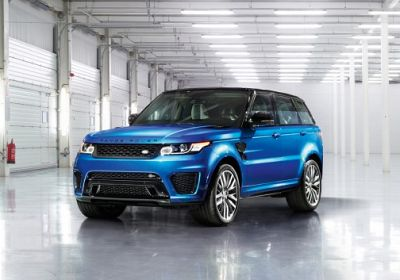 2017 Land Rover Range Rover Sport SVR 5.0 L., 550 hp, 8 speed, Automatic, 4WD