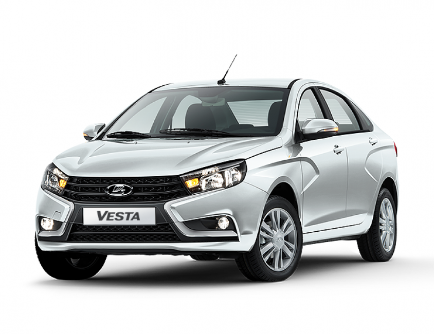 New 2018 Lada Vesta G2 1 6 L , 106 hp, 5 speed, Automated Manual  Transmission, FWD