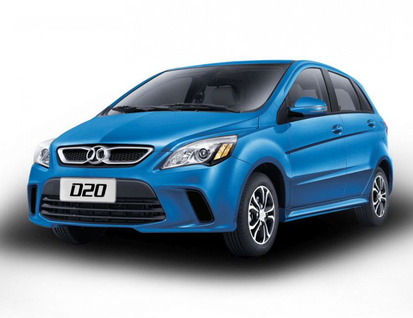 New 2019 BAIC D20 Manual 1.3 L., 98 hp, 5 speed, Manual ...