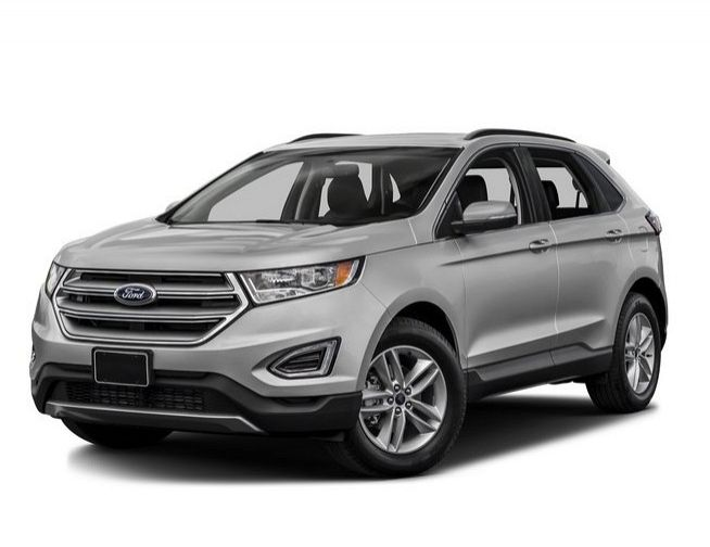 New 2017 Ford Edge Sel Suv