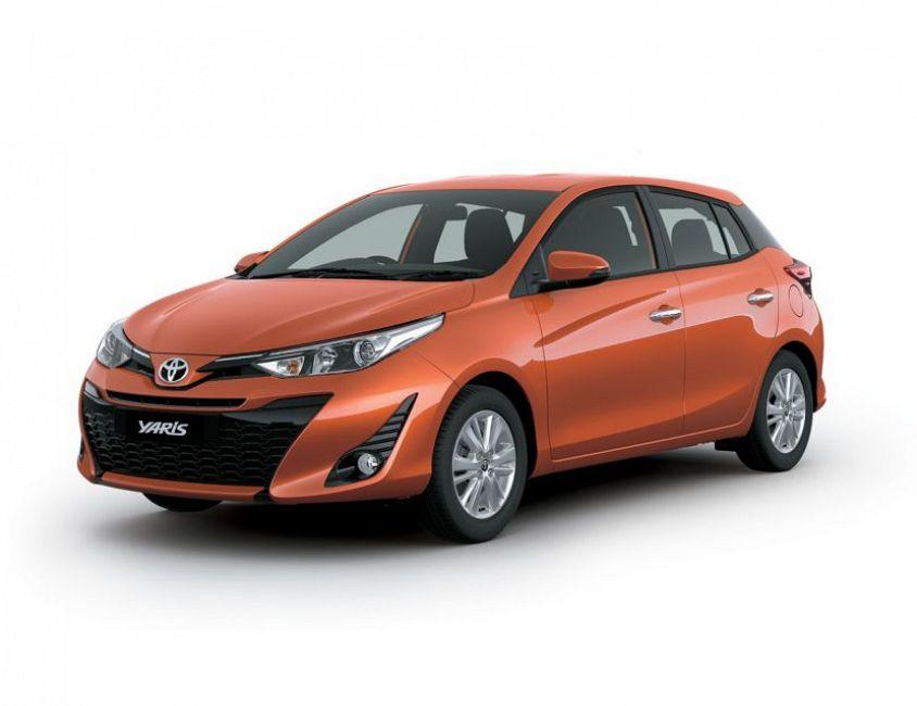New 2019 Toyota Yaris Base 1.3 L., 98 hp, 7 speed, CVT ...