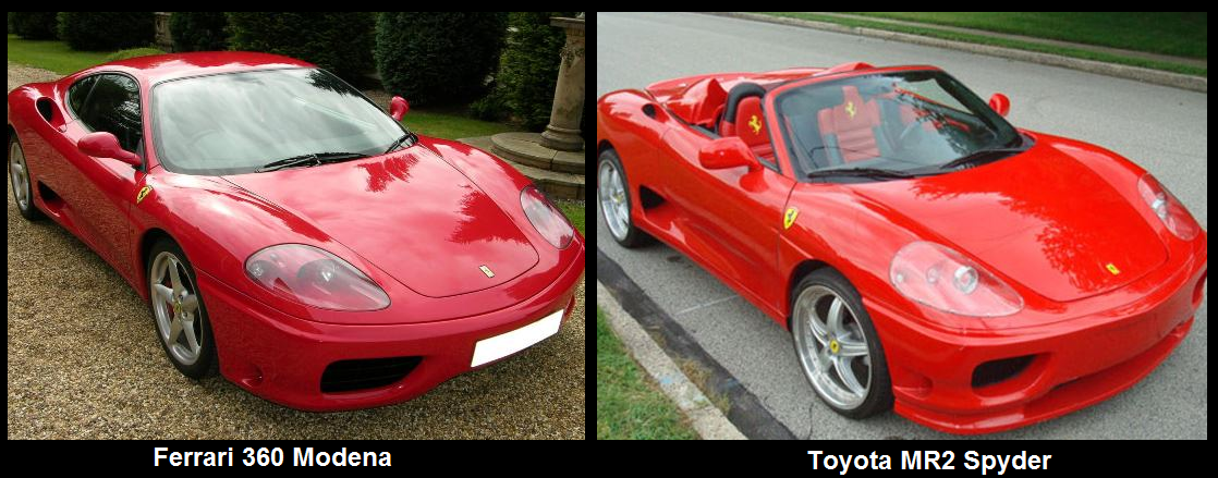 Fake Ferraris: Can you tell the difference?! | Car News | Wheelers