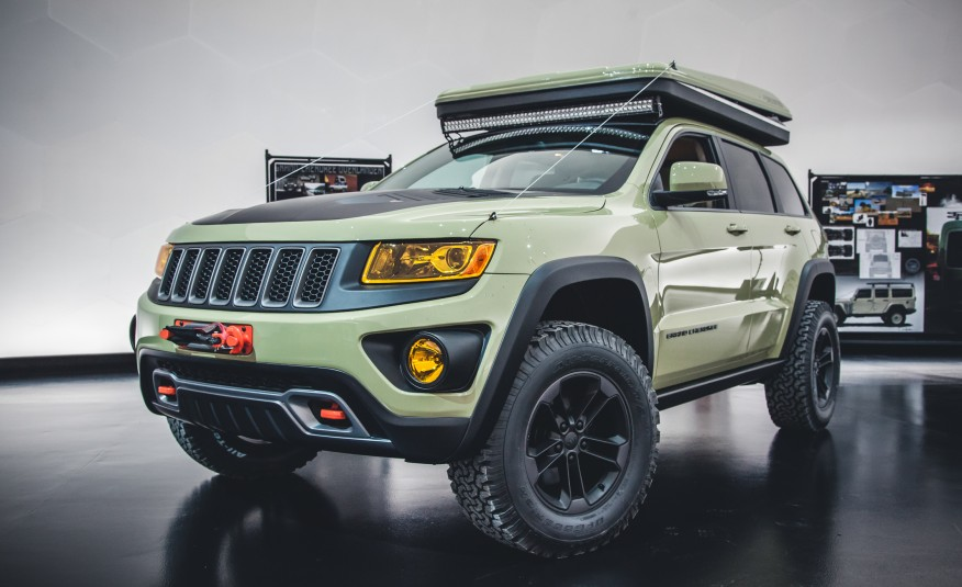 Jeep Overlander Camping Concept! | Car News | Wheelers