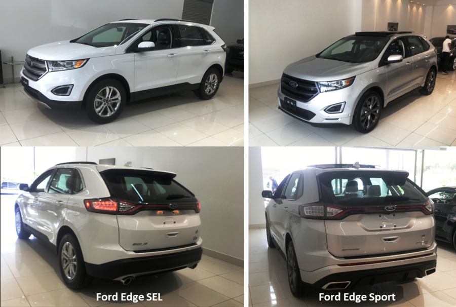 The Ford Edge Is Offered In Two Engine Sizes On The Lebanese Market