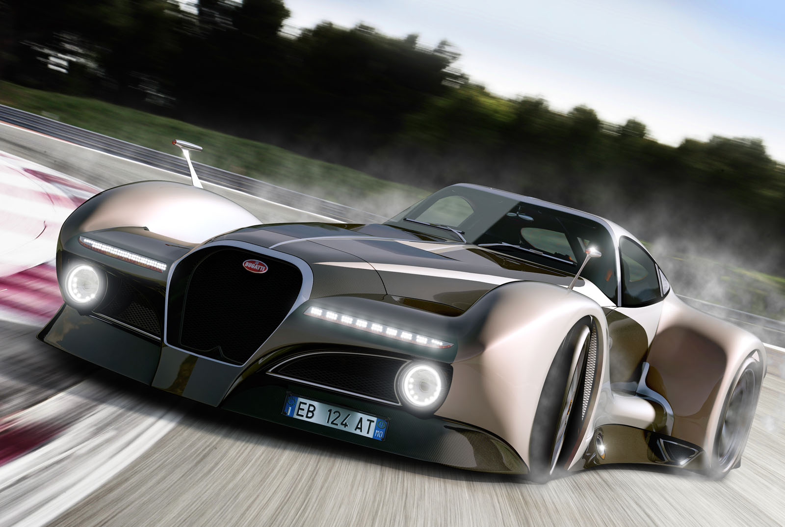 Bugatti 12 4 Atlantique Concept Car Car News Wheelers